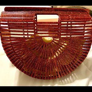 Cult Gaia Acrylic Handbag